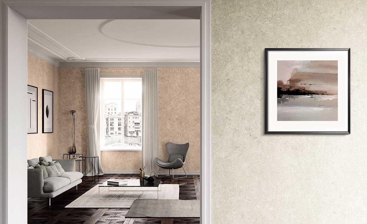 tablou in living room